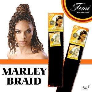 Femi Collection Marley Braid 100% Kanekalon (COLOR: #27, #30, #33 (#30)