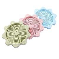 断熱パッド コースター 3枚セット おしゃれ コップ用マット コーヒー 滑り止め キッチン用 碗・皿用品