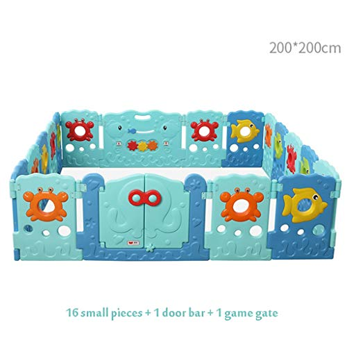 Find Bargain Niuniu Large Playpen for Babies, Baby Playpen Indoor Safety Baby Fence, Amusement Park ...