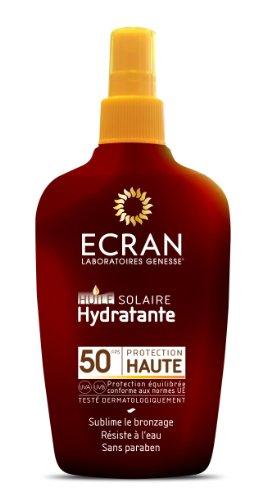 Ecran Huile Solaire Hydratante FPS 50