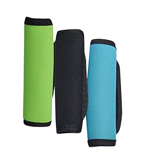 Af-Wan Komfort Neopren Koffer Griff Wraps/Grip/Identifikator/Abdeckung für Reisetasche Gepäck Koffer Grip ID Tag. (3 Stück)