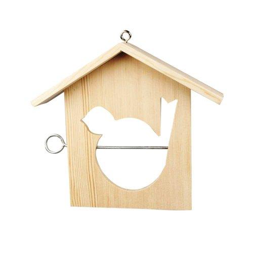 Mangeoire pour oiseaux, 19x21 cm, traité, 1 pièce