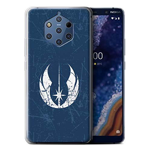 Hülle Für Nokia 9 PureView 2019 Galaktisches Symbol Kunst Jedi-Befehl Inspiriert Design Transparent Dünn Weich Silikon Gel/TPU Schutz Handyhülle Case
