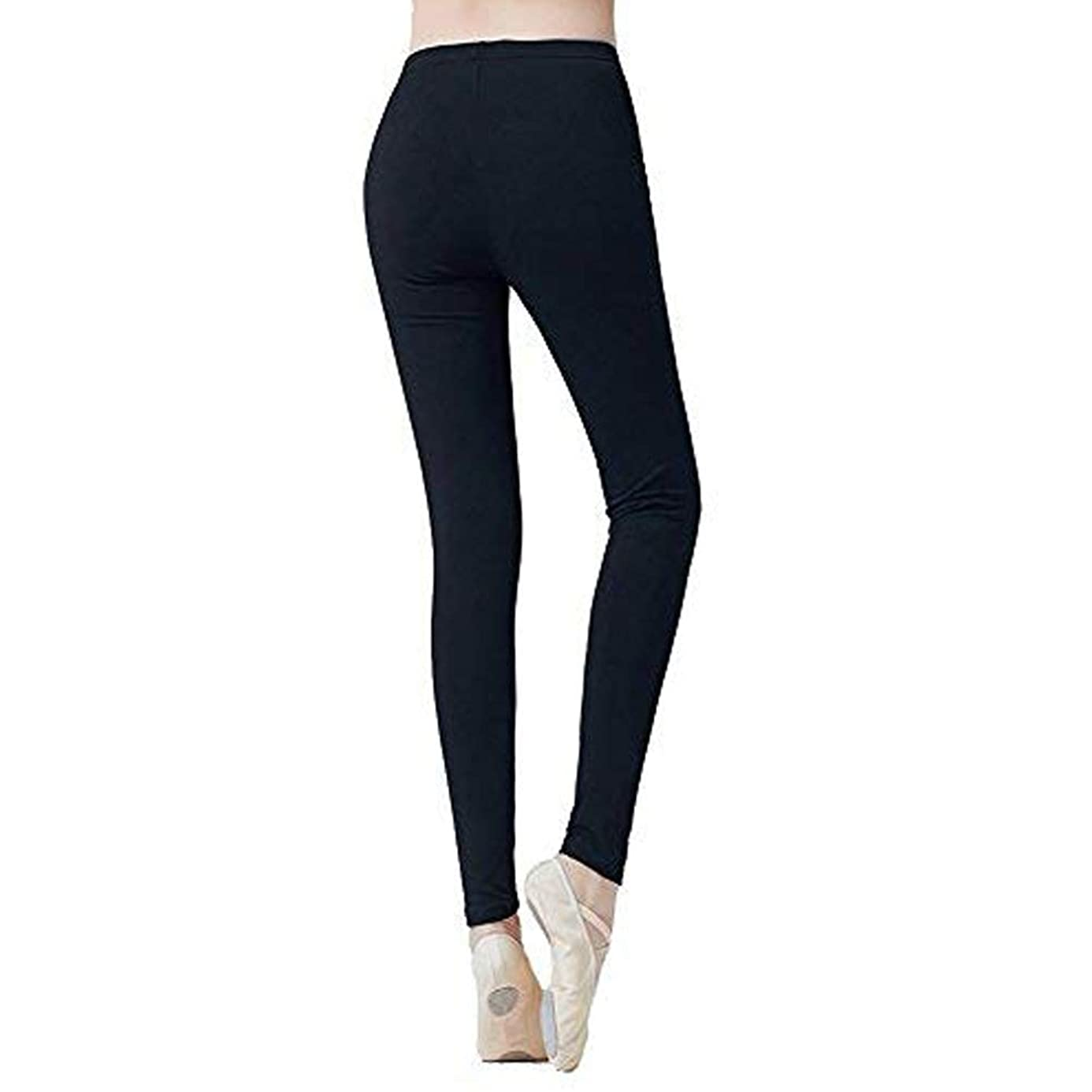 DANCEYOU Athletic Dance Leggings Pants for Women Sports Ballet Gym Yoga Workout Power Pants