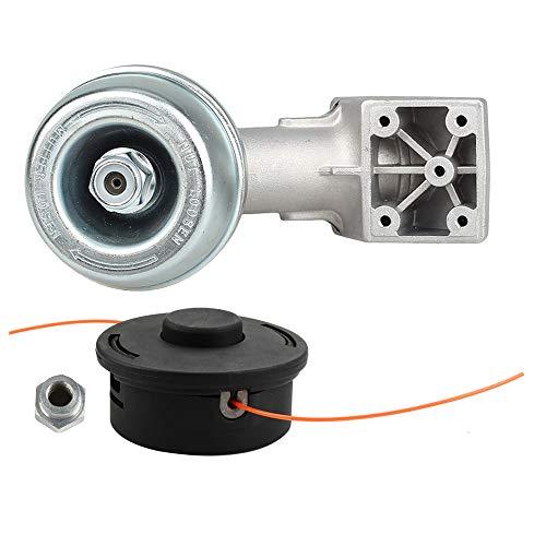 FS90 Gear Box Head Housing + Trimmer Head Replacement for STHIL FS120R FS200R FS240C FS250 FS250R FS260C FR350 FS460C FR480 FS250R Parts Kit