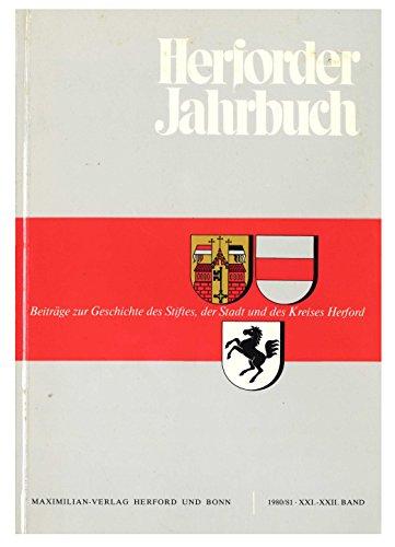 Herforder Jahrbuch 1980/81 Band XXI/XXII