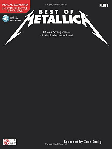 Metallica: Best Of - Flute: Noten, CD für Flöte: Instrumental Play-Along (Book & CD)