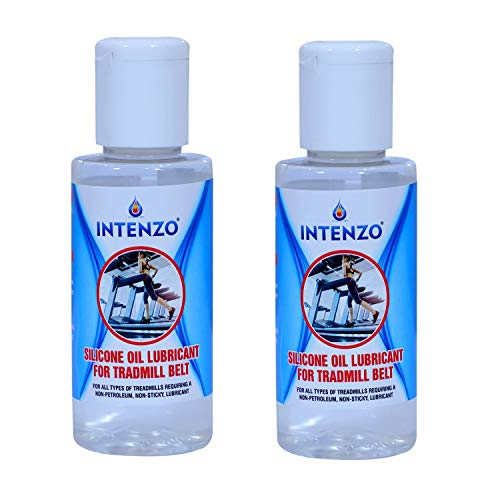 Silicone Lubricant Oil for Treadmill Belt (Pack of 2) 100ml Bottle
