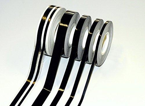 carstyling XXL Auto Zierstreifen Deco-Stripe schwarz 5 mm x 10 m ~ schneller Versand innerhalb 24 Stunden ~