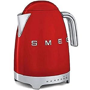 1,7 L, 2200 W, Rojo, Acero inoxidable, Ajustes de termostato