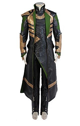 RedJade Thor The Dark World Loki Outfit Traje de Cosplay Disfraz personalización