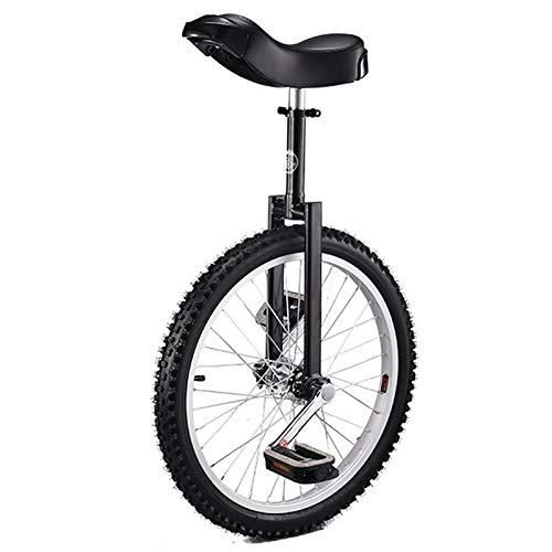 """Einrad 18/16-Zoll-Rad Einrad Geschenke, für Kinder (Alter 6-14 Jahre), Erwachsene/Jugendliche/Jungen/Mädchen 24/20\""""Outdoor Sports Balance Radfahren (Color : Blaxk, Size : 18inch)"""