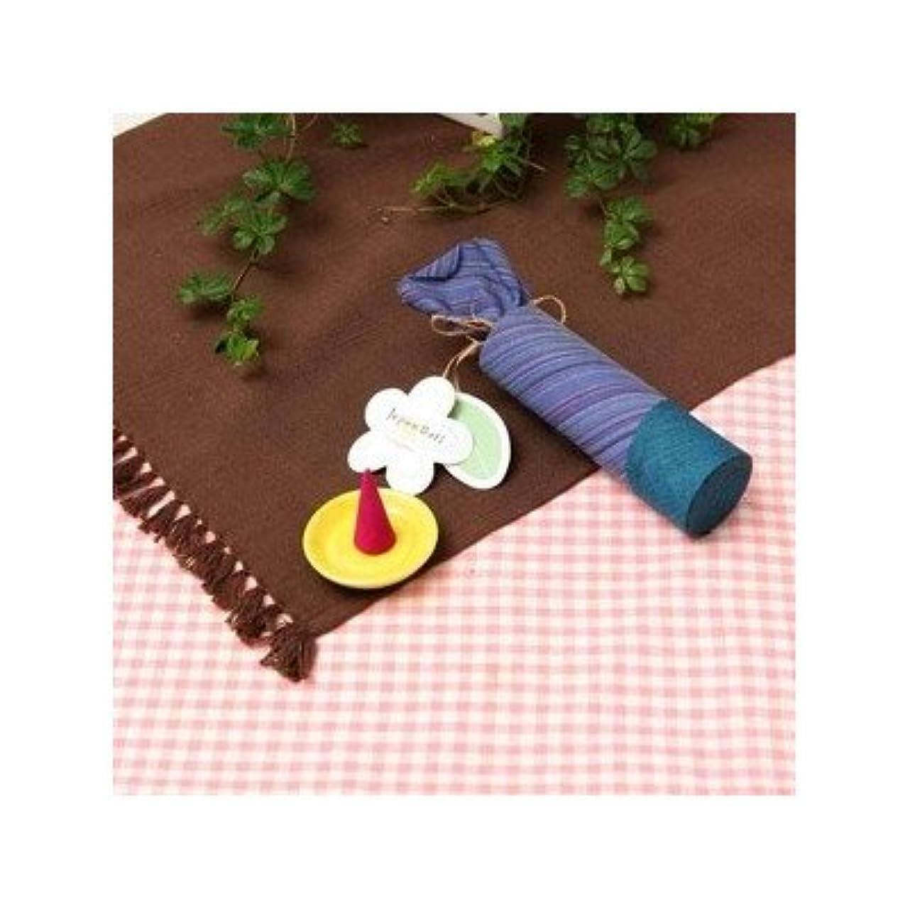 不利益成功したアーティストお香/インセンス 〔ラベンダーの香り コーンタイプ10個入り〕 バリ島製 「Jupen Bari ジュプンバリ」[通販用梱包品]