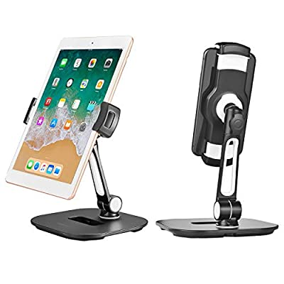 Aedericoe Tablet Desk Stand, Swivel Kitchen Hol...