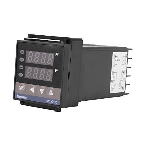 0℃~50℃ Alarm REX-C100 Digital Intelligent Thermostat LED PID Temperature Controller AC110V-240V