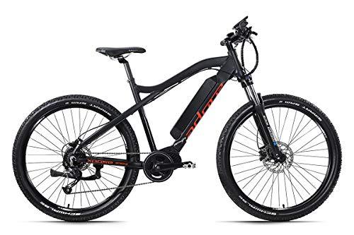 Adore E-Mountainbike Xpose 27,5'' Alu Pedelec schwarz 9 Gang E-Bike 250Watt Li-Ion 36V/14Ah