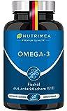 Krillöl Kapseln - ANTARKTIS Omega 3 - Natürliches Krill Öl aus nachhaltigem Wildfang - 100%...
