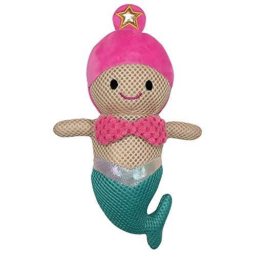 FouFou Dog 87006 Under The Sea Spiker Toy Jouet pour Chien Mermaid
