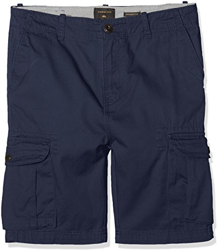 Quiksilver Jungen Walk Shorts Crucial Battle, Blue Nights, 26/12, EQBWS03226