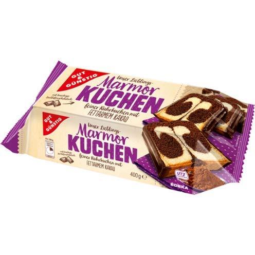 Gut & Günstig Mamorkuchen, 3er Pack, 3 x 400 g