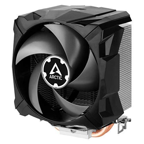 ARCTIC Freezer 7 X CO - Kompakter CPU-Kühler für den Dauerbetrieb, 92-mm-Lüfter, Kompatibel für Intel- & AMD-Sockel, 300–2000 U/min. (PWM-gesteuert), voraufgetragene MX-2-Wärmeleitpaste - Schwarz