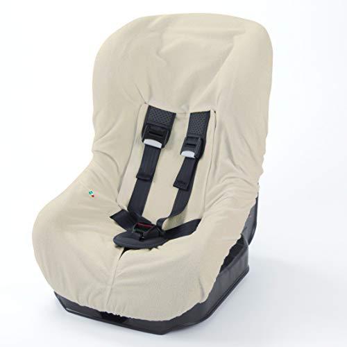Babysanity® Morbido Copri Seggiolino Auto Universale 0/18 In Doppia Spugna Di Cotone 100% Copri Seduta Lavabile Con Passaggio Cinghie -Made In...