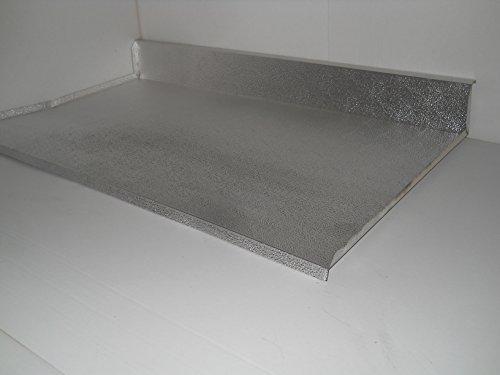 DELPA MOBILI Protezione Alluminio SOTTOLAVELLO Base 90 CM con ALZATINA
