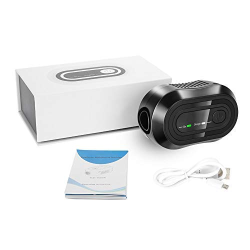 Purificador de aire CPAP de HURRISE, desinfectante portátil mini USB Desinfectante Tubos de aire de CPAP Máquina Respirador de manguera Limpiador de ozono Cuidado desinfectante Inicio con un botón