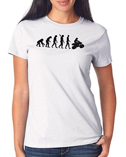 Certified Freak Quad Evolution T-Shirt Girls White M