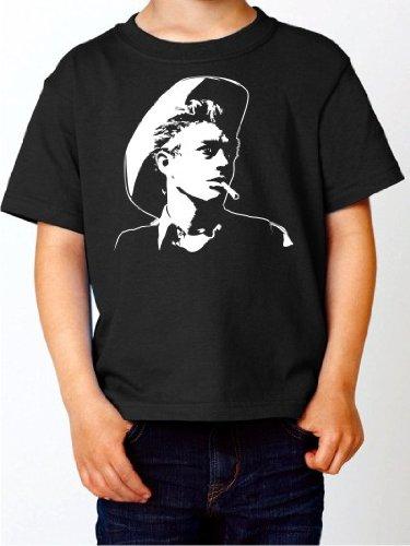 BIGTIME.de Kinder T-Shirt James Dean Fan Shirt schwarz E99-kids Gr. 104