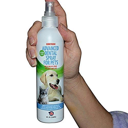 Sonnyridge Dog Dental Spray Removes Tartar, Plaque and Freshens Breath...