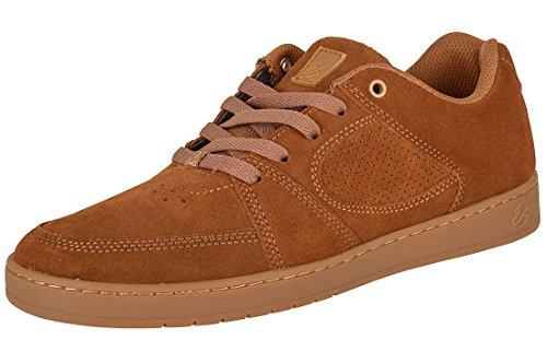 éS Footwear eS SKB Shoe Accel Slim bro/Gum, Brown/Gum 7