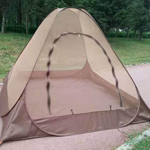 ZFLL outdoor tent Super grote ruimte 1-2 persoon boeddhisme tempel meditatie Anti muggen buiten binnen yoga automatische tent snel open pop-up tent