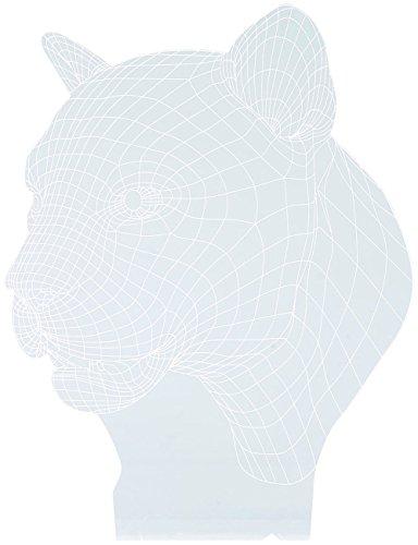 Motif 3D pour socle lumineux LS-7.3D - Panthère [Lunartec]