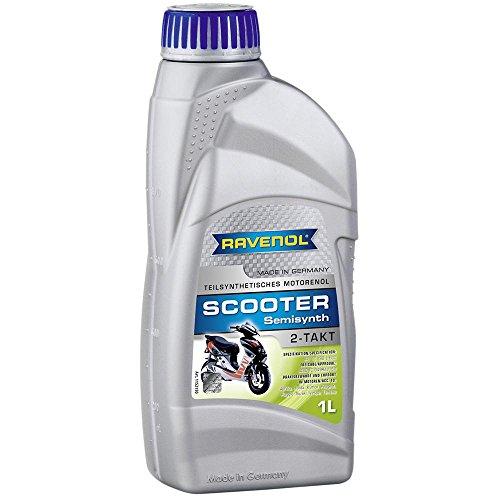 RAVENOL SCOOTER 2-takt gedeeltelijk synthetisch, 1 liter