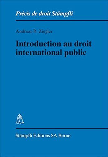 Introduction au Droit International Publ