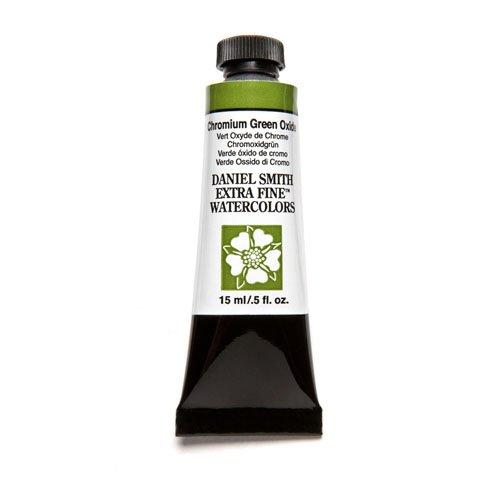 DANIEL SMITH Extra Fine Watercolor Paint, 15ml Tube, Chromium Green Oxide, 284600024