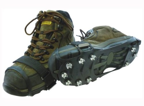 Snow n Go Snow and Ice Boot and Shoe Heavy Duty Grips, Large