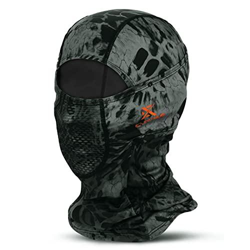 Extremus ChillKap Ski Balaclava Face Mask UV Protection Lightweight Hood Mask Prym1 Blackout
