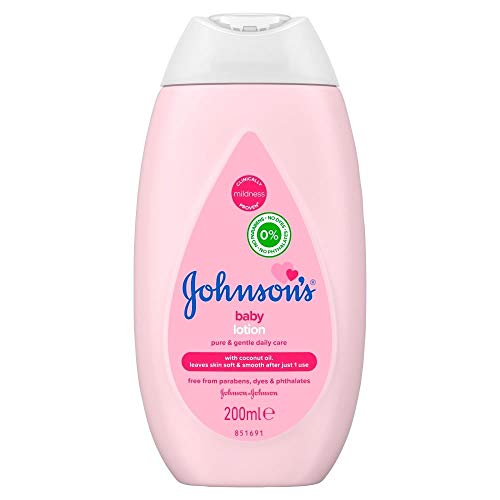 Johnson's Baby Lotion 200ml - pure & sanfte Pflege - 1 Stück pro Pack
