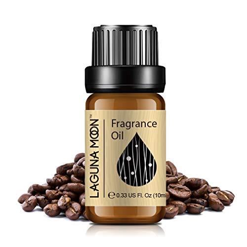 Lagunamoon Duftöle, Ätherische Öle für Luftbefeuchter, Aromatherapie Öl 10ml - Kaffee