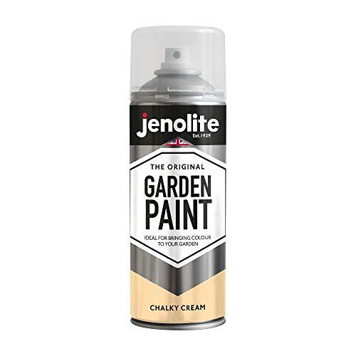 JENOLITE Garden Furniture Spray Paint - Chalky Cream - 400ml (Ideal for...
