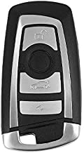 Replacement Smart Key Keyless Entry Remote for 2009-2016 BMW 3/5 / 7 Series OEM Replacement - Battery included – Key Blade Included – Lightweight Keyless Entry Remote Key Car
