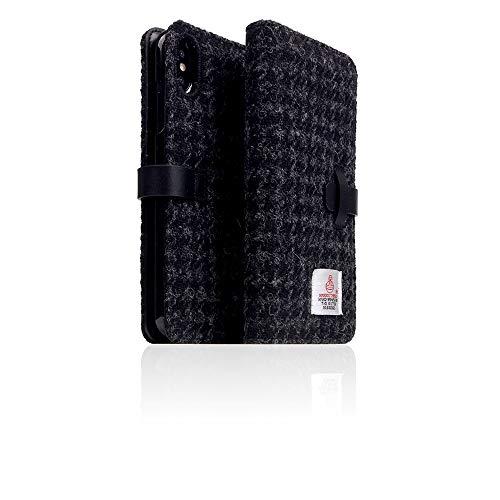 [SLG Design] D5 Special Edition X Harris Tweed Schutzhülle für iPhone XS Max I 100% Tweed Wolle...