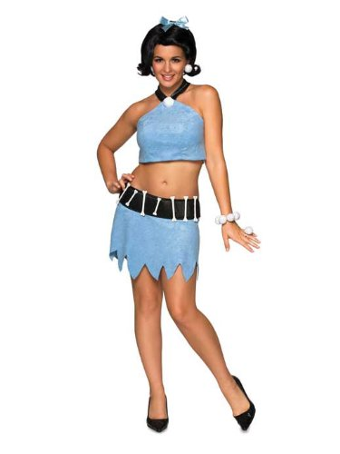 Secret Wishes Women's The Flintstones Sassy Adult Betty Rubble Costume, Multicolor, Small