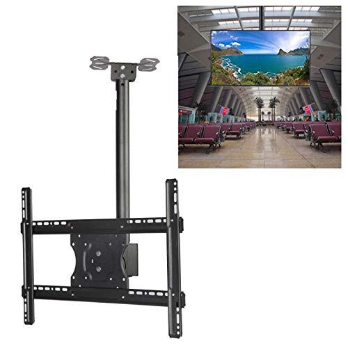 TV Auxiliar LGmin 32-65 Pulgadas de Altura Universal y ángulo TV LCD Ajustable TV de Pared de Techo de Pared, Soporte de Doble Uso, Longitud retráctil: 1m