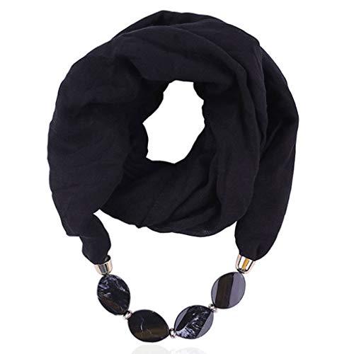 kolila Damen Mode Schals Weiches Balinesisches Garn Baumwolle Leinen Ethno Stil Halskette Anhänger Schal Tücher Stola Mehrfarbig Wählen Sie