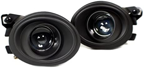 PROMOTORING For BMW E46 M3 & M-Tech II / E39 M5 Front Bumper Projector Fog Lights - Black