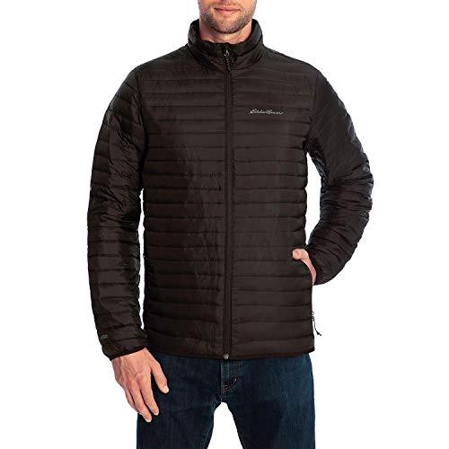 Eddie Bauer Men's Packable Rain Jacket - Black XX-Large