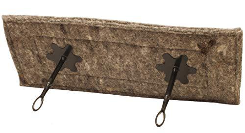 "Flueblocker 13""x35"" Rectangle Chimney Sheep Wool Wood Stove and Fireplace Draft Stopper Plug Damper"